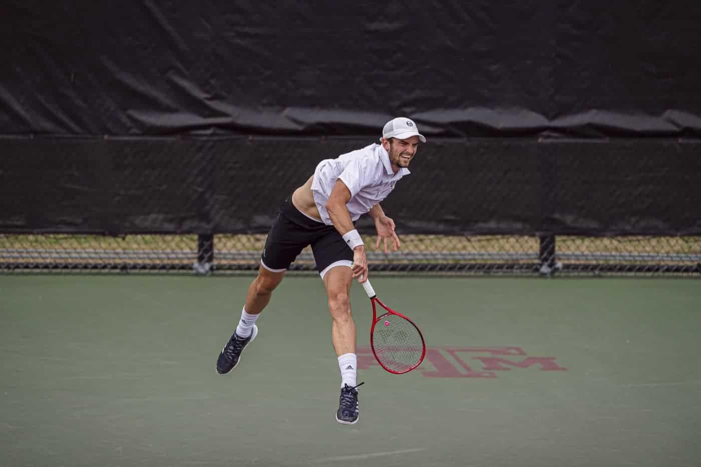 Tennisspieler Aggie Valentin Vacherot
