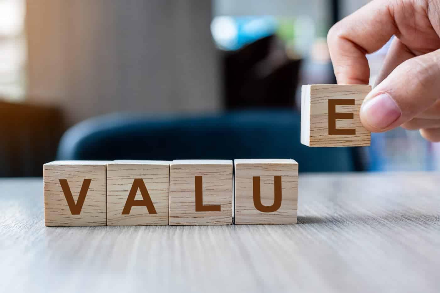 Holzklötze Value