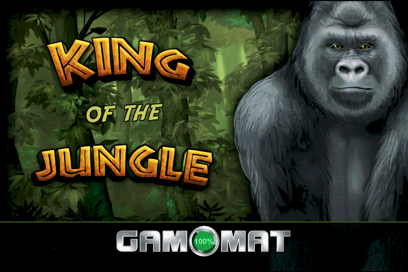 King of the Jungle Gamomat Logo
