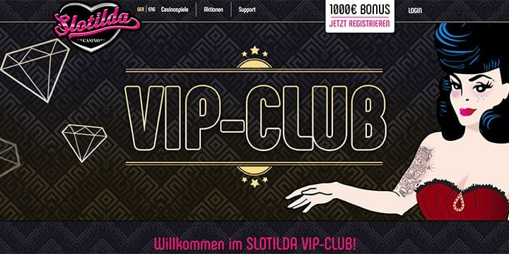 Slotilda Casino VIP Club