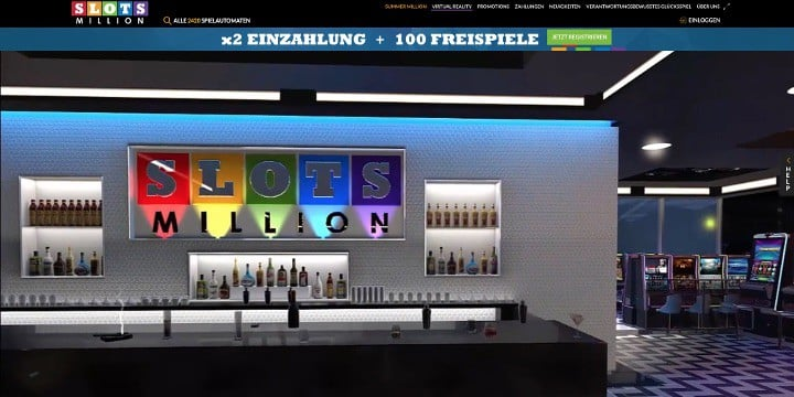 Slotsmillion Casino VR Casino