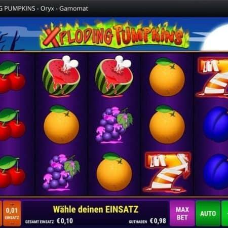 Xploding Pumpkins von Gamomat