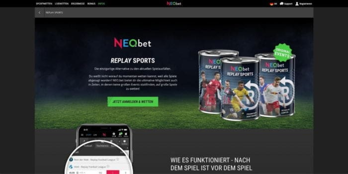 Neobet Replay Sports
