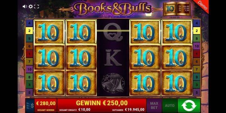 Books and Bulls von Gamomat