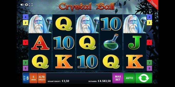 Crystal Ball von Gamomat