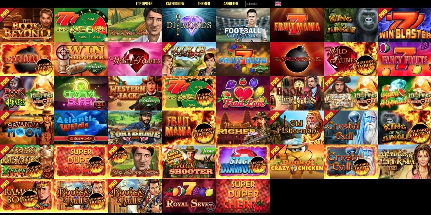 BoomBang Casino Gamomat