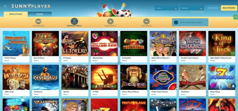 Sunnyplayer Casino Merkur