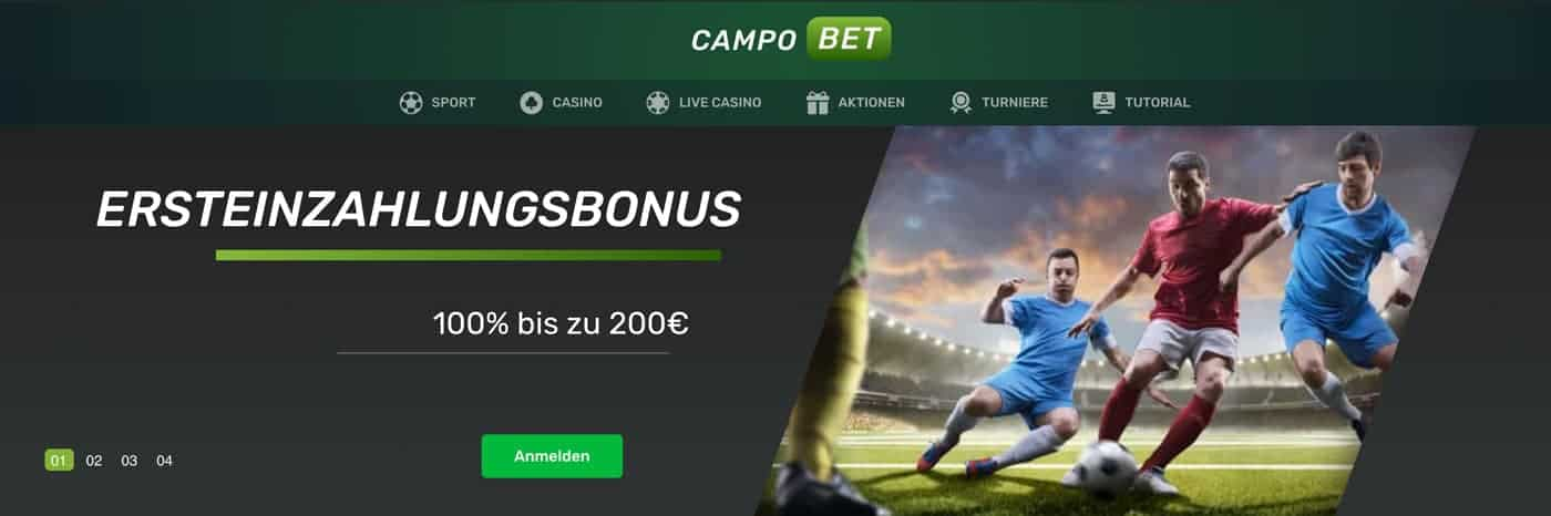 Campobet Sportwetten Bonus