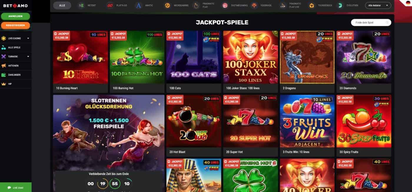 Betamo Jackpot Slots