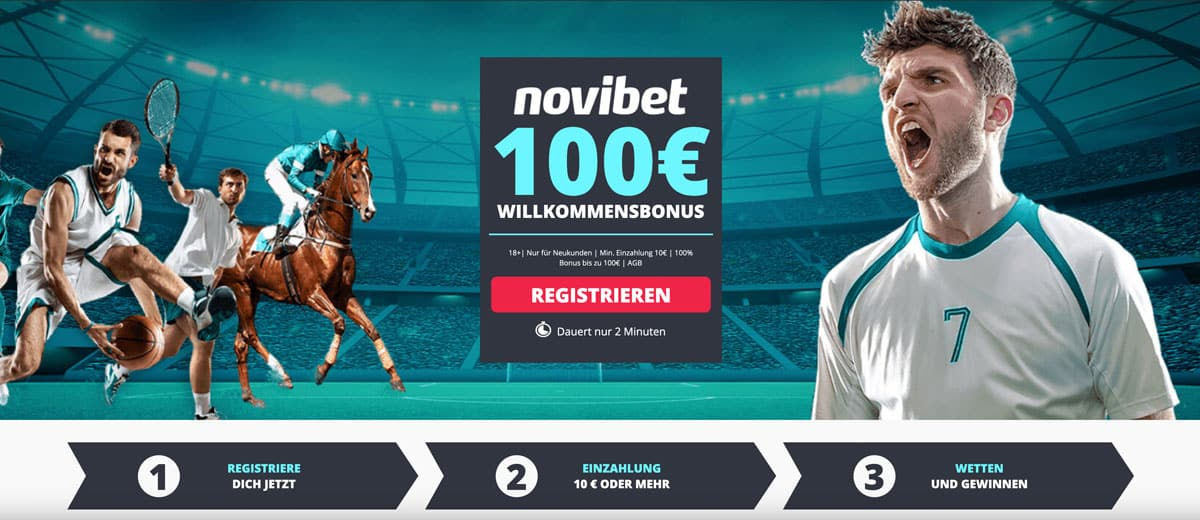 Novibet Sportwetten Bonus