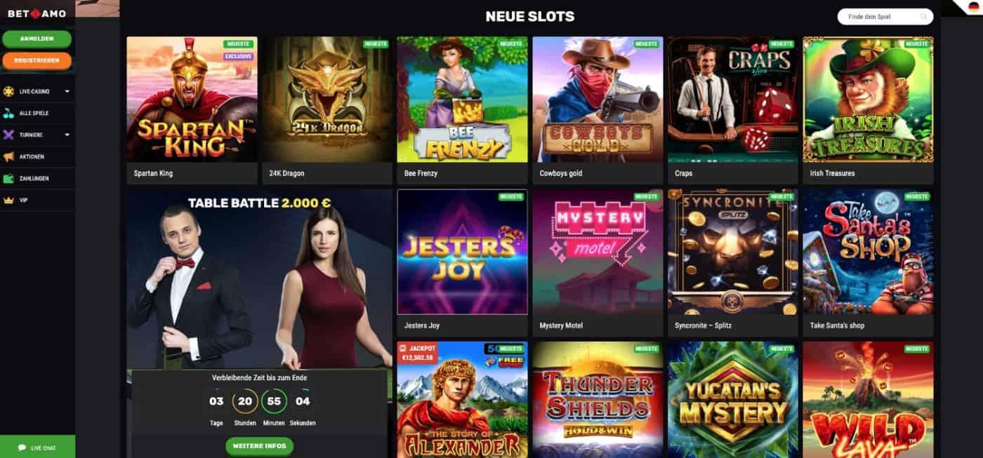 Betamo Casino Slots