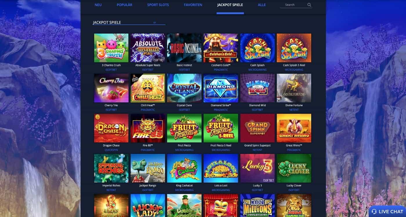 Rembrandt Casino Jackpots