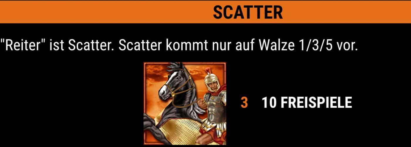 Roman Legion Slot Scatter