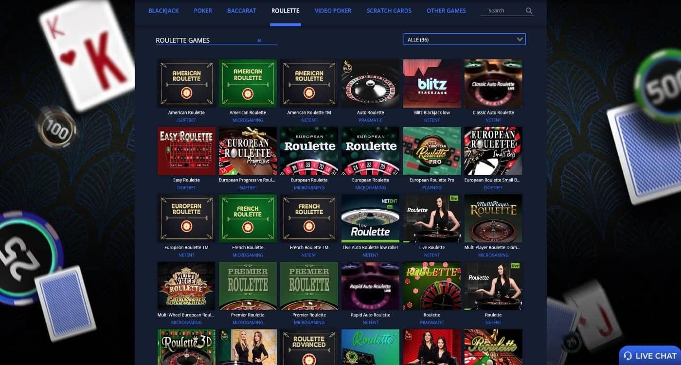 Rembrandt Casino Roulette