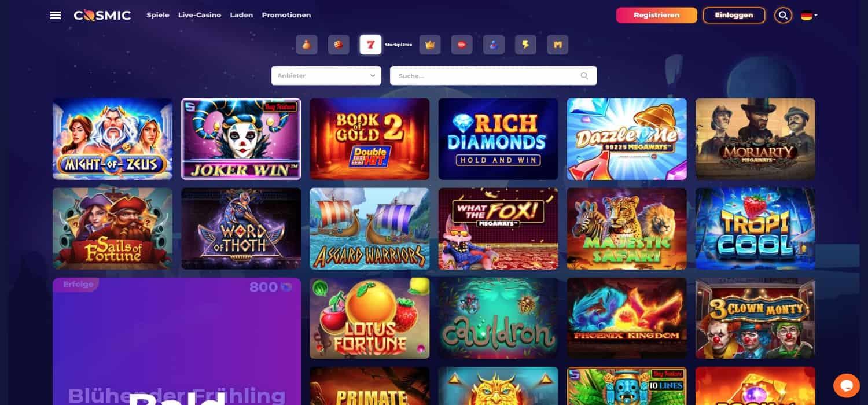 Cosmic Slot Casino Slots